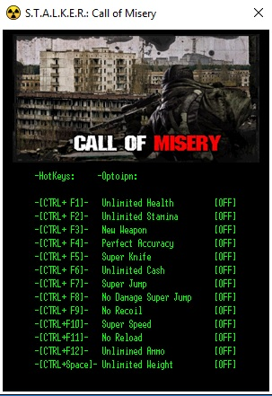 Call of Misery Trainer
