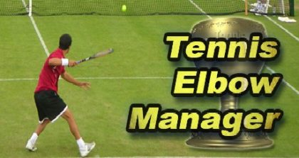 Tennis Elbow Manager trainer