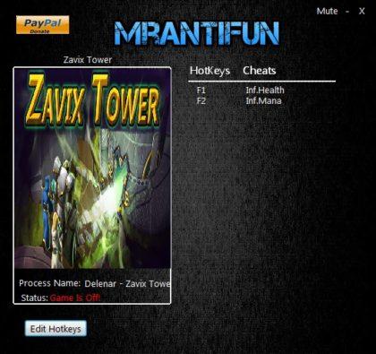 Zavix Tower trainer