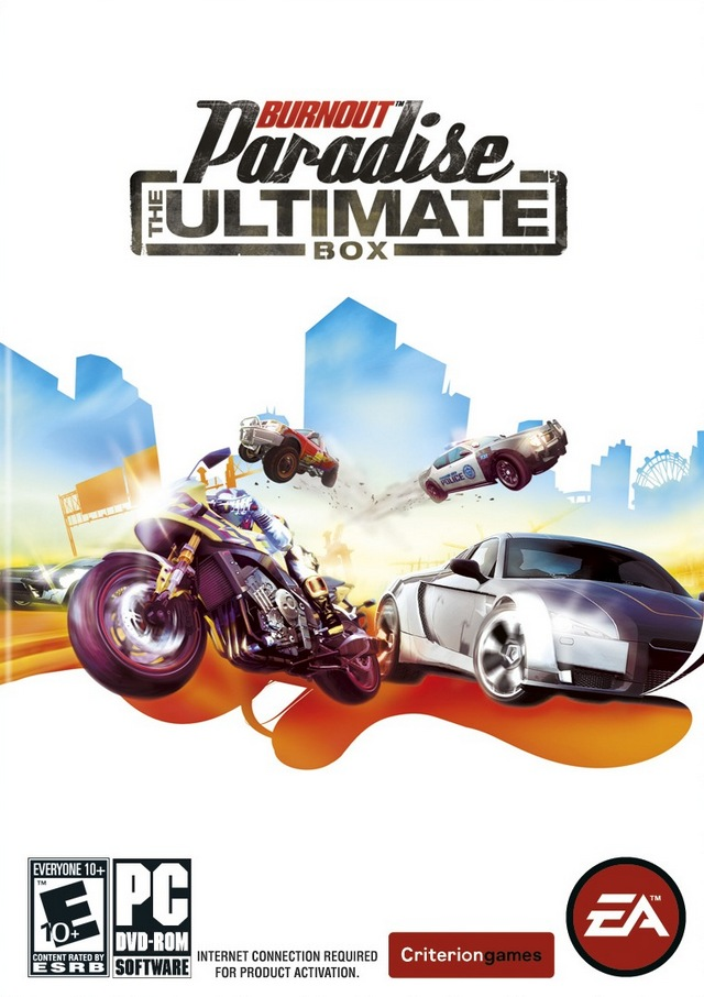 Burnout Paradise The Ultimate Box cover
