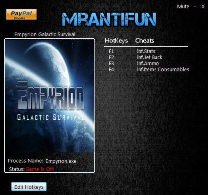 Empyrion Galactic Survival v5.3.1+ Trainer