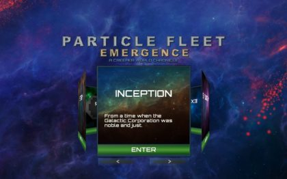 Particle Fleet Emergence Trainer