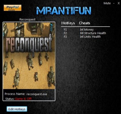 Reconquest v1.848 Trainer