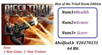 Rise of the Triad DOOM Edition Trainer
