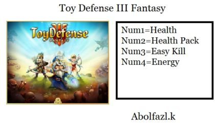 Toy Defense 3 Fantasy trainer