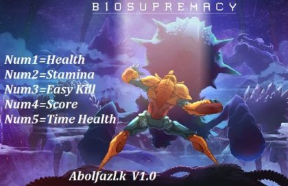 Biosupremacy Trainer