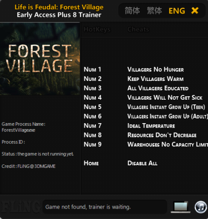 Life is Feudal Forest Village fling