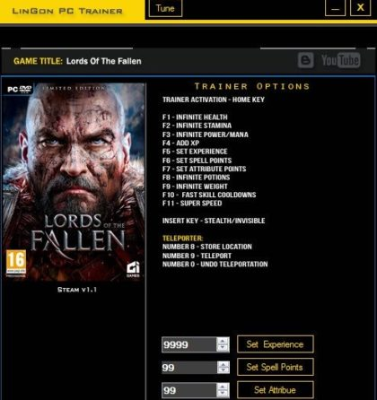 lords of the fallen key