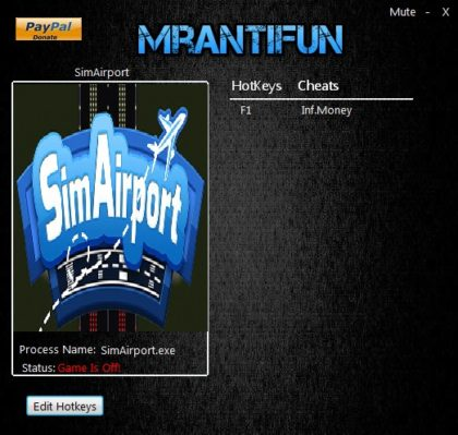 SimAirport trainer mrantifun