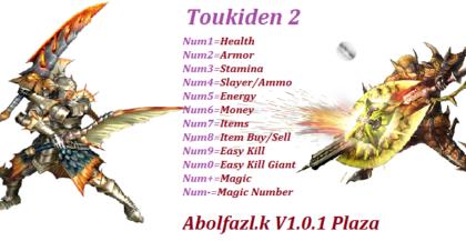 Toukiden 2 v1.0.3 Trainer