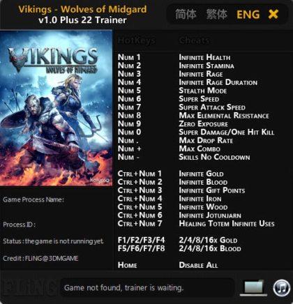 Vikings Wolves of Midgard Trainer