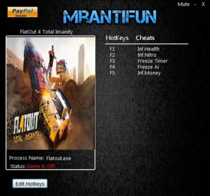 FlatOut 4 Total Insanity trainers