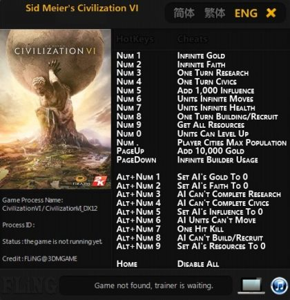 civilization vi rise and fall how to cheat technology