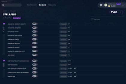 Stellaris 2 5 Trainer +14 (Lithoids), Cheats & Codes - PC