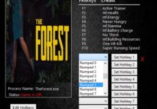 The Forest v0.52 Trainer