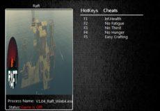 Raft v1.04+ Trainer
