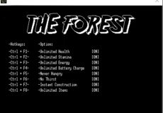 The Forest v0.55 Trainer